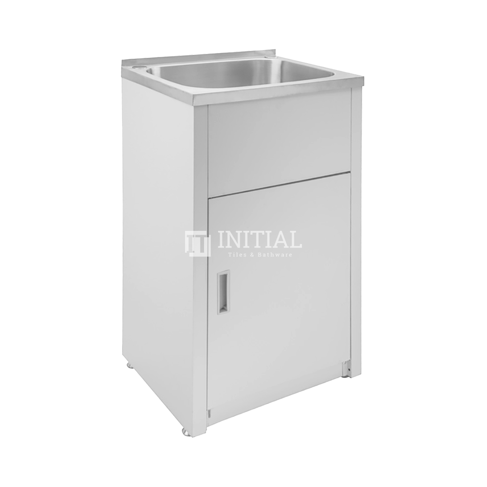 Freestanding Stainless Steel Laundry Tub 35L 455X560X870