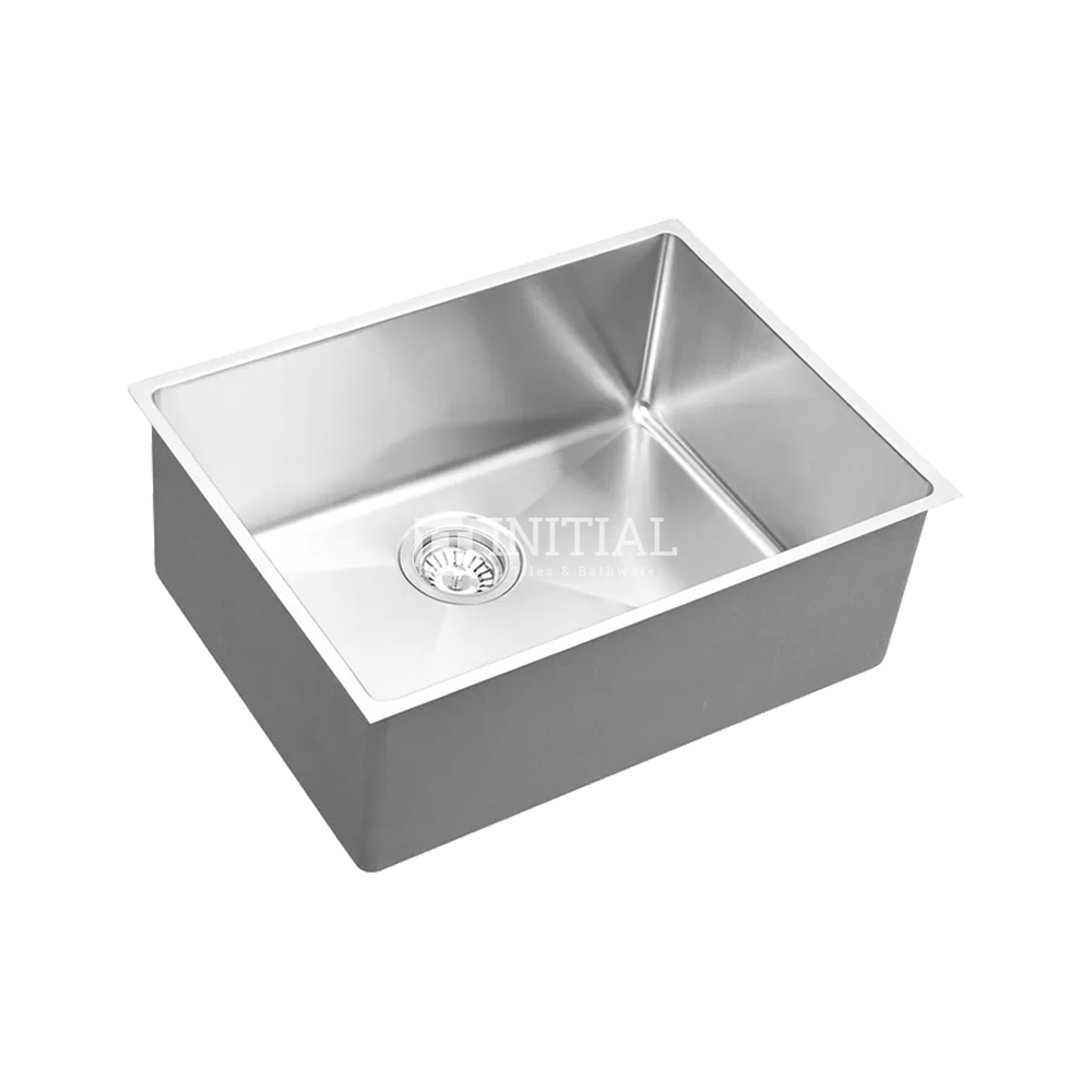 Square Hand Made Stainless Steel Kitchen Sink 580X440X220