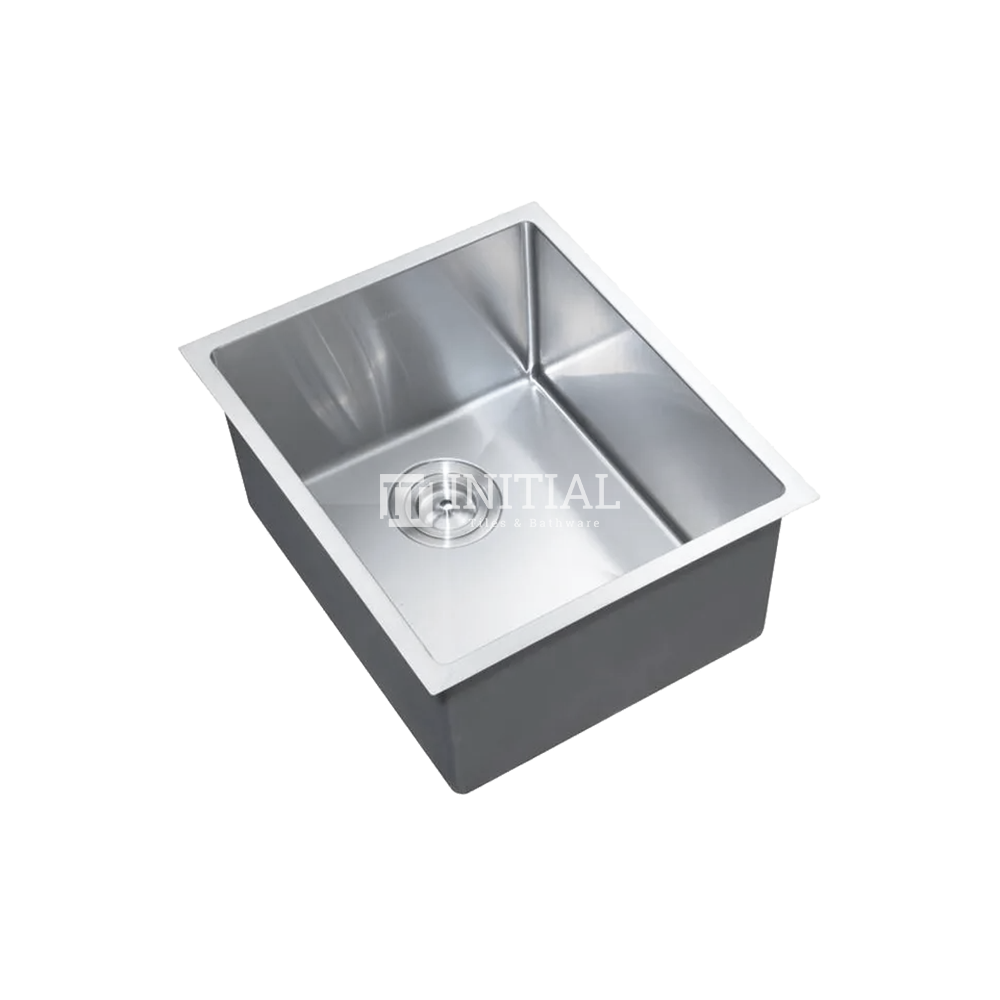 Square Hand Made Stainless Steel Kitchen Sink 390X450X220