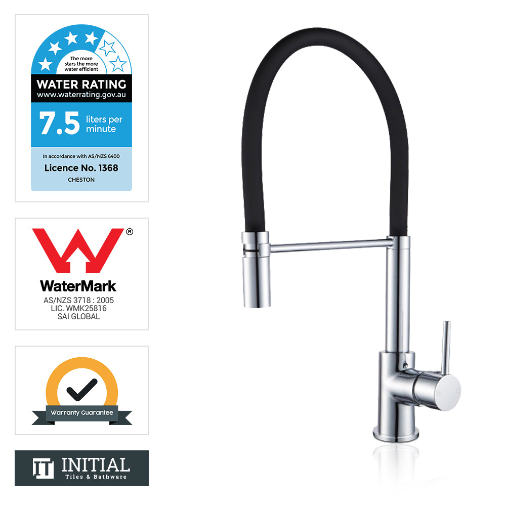 Kitchen Round 360° Swivel Sink Mixer Chrome