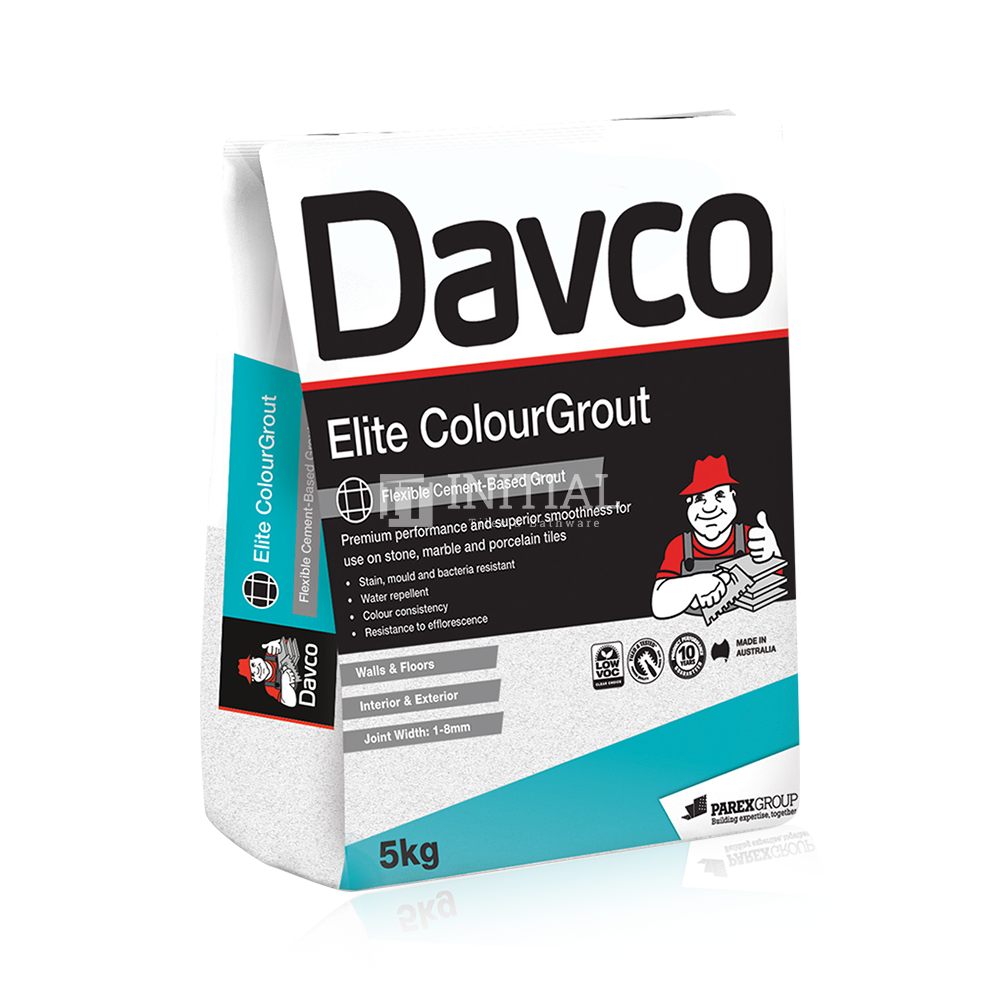 Davco Elite Colour Grout 5KG