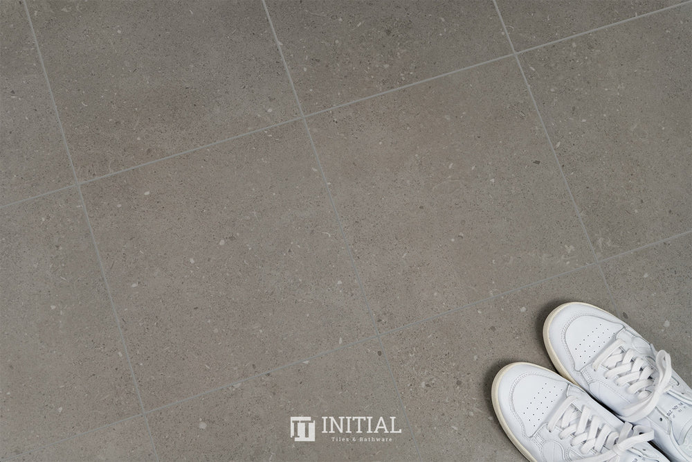 Concrete Look Tile Gaspari Dark Grey Matt 300X300