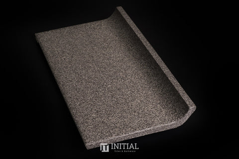 Commercial Dotti Dark Grey Coving Tile 100X200