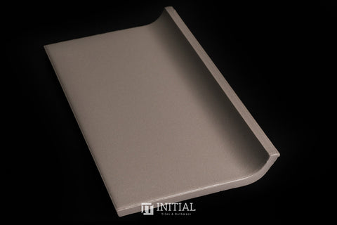 Commercial Uni Grey Coving Tile 100X200
