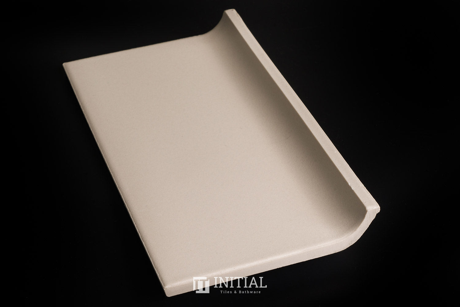 Commercial Uni Ivory Coving Tile 100X200