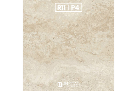 Outdoor Premium Porcelain Paver Travertine Beige 600X600X20