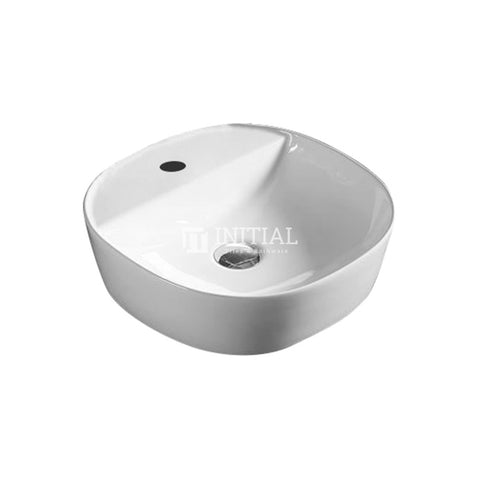 Gross Round Ultra Slim Above Counter Basin White 500X380X120