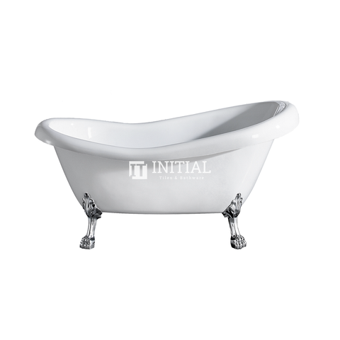 Bathroom Gloss White Espada Floor Freestanding Bathtub with No Overflow 1500X770X780