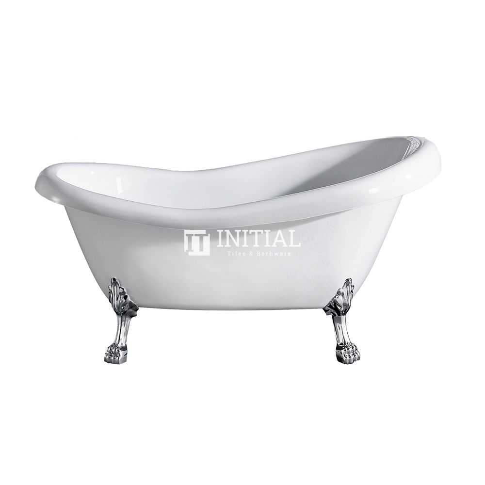 Bathroom Gloss White Espada Floor Freestanding Bathtub with No Overflow 1680X770X780