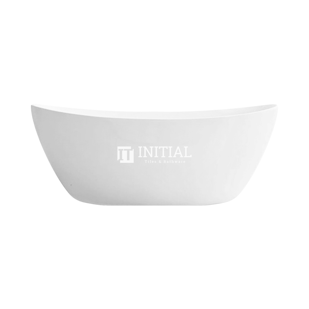 Bathroom Gloss or Matt White Evo Floor Freestanding Bathtub with No Overflow 1500X750X680