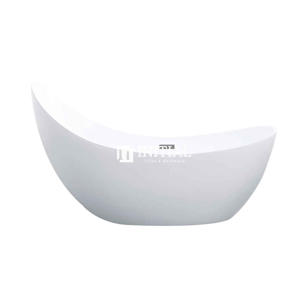 Bathroom Gloss or Matt White Posh Floor Freestanding Bathtub with Overflow 1490X710X830