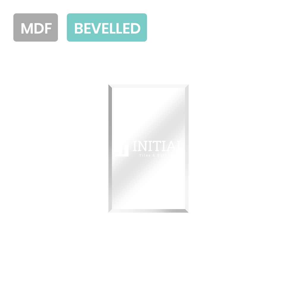 Gloss White MDF Bevelled Edge Mirrors Shaving Cabinet with 1 Door 450X150X720