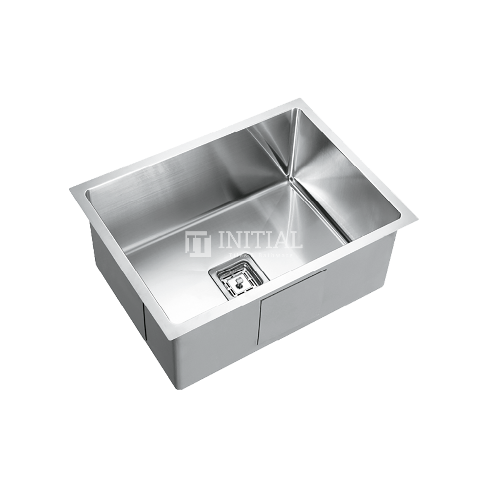 Square Hand Made Stainless Steel Kitchen Sink 600X450X235