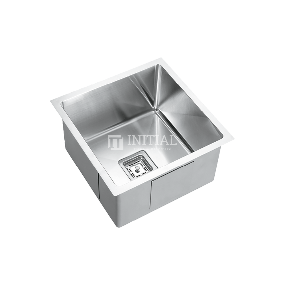 Square Hand Made Stainless Steel Kitchen Sink 450X450X235
