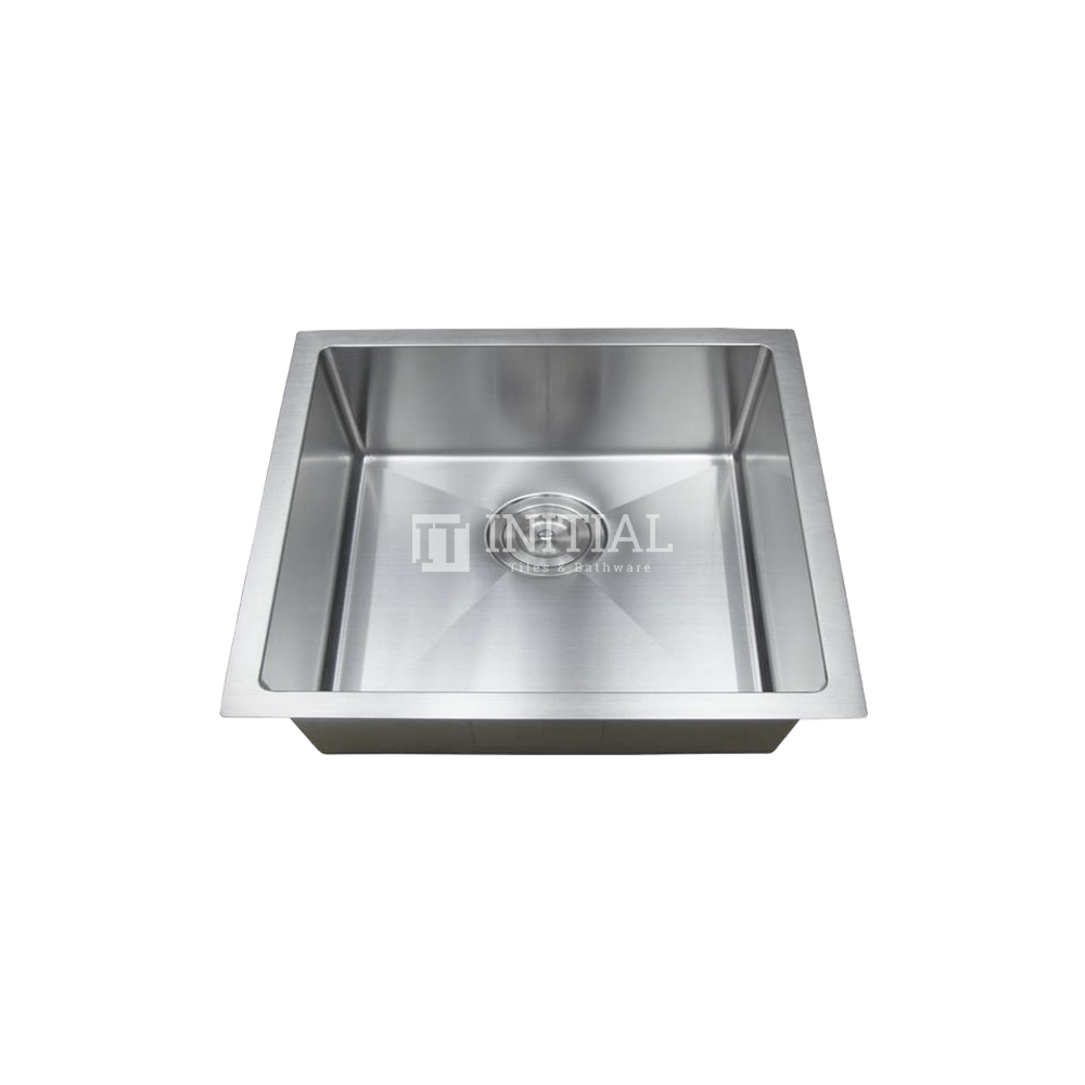Square Hand Made Stainless Steel Kitchen Sink 600X450X220