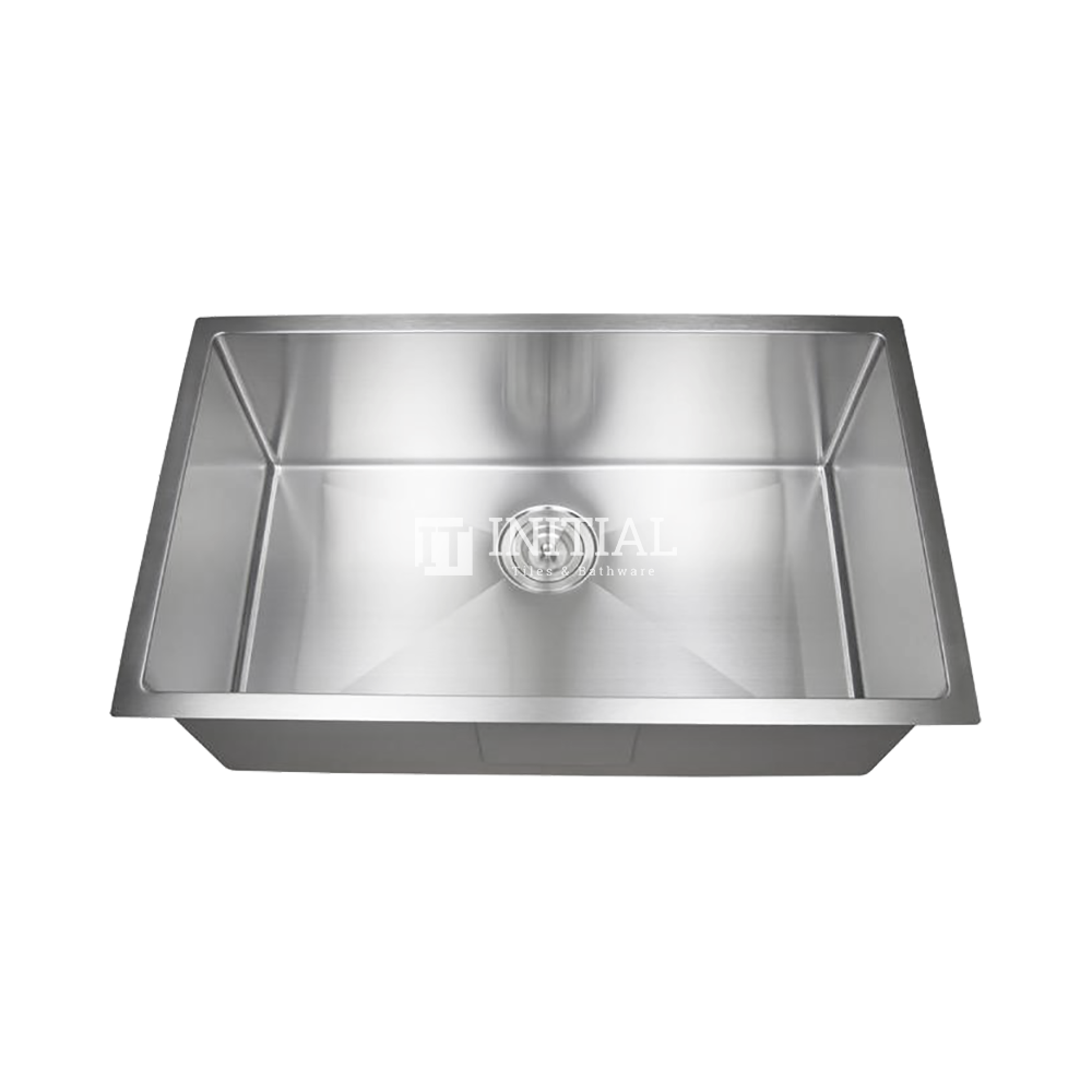 Square Hand Made Stainless Steel Kitchen Sink 750X450X220