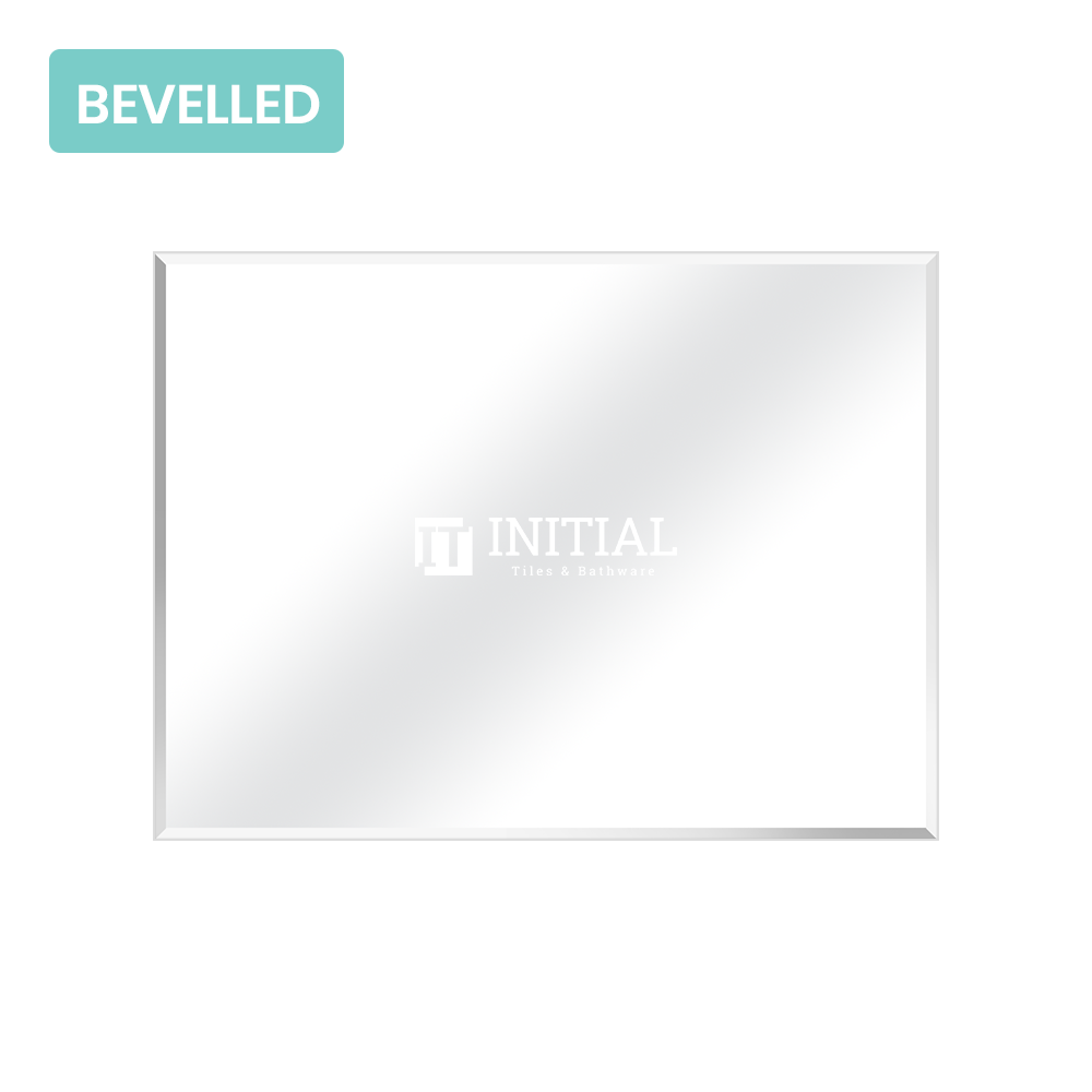 Bathroom Wall Mounted 4mm Plain Bevelled Edge Mirror 1200X900