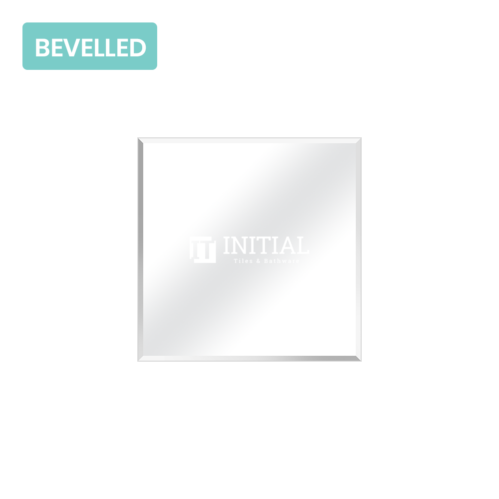 Bathroom Wall Mounted 4mm Plain Bevelled Edge Mirror 750X750