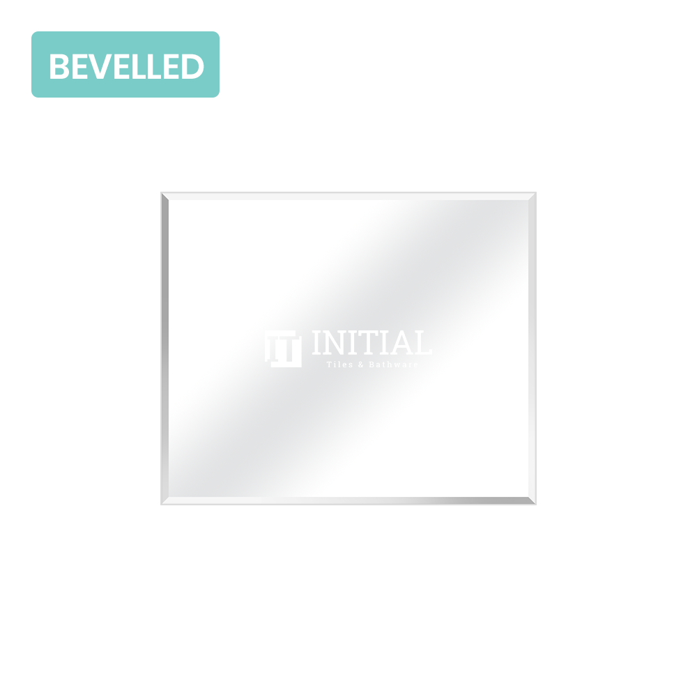 Bathroom Wall Mounted 4mm Plain Bevelled Edge Mirror 900X750