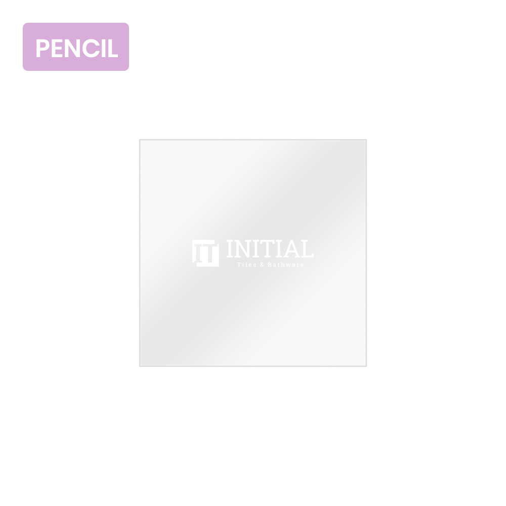 Bathroom Wall Mounted 4mm Plain Pencil Edge Mirror 750X750