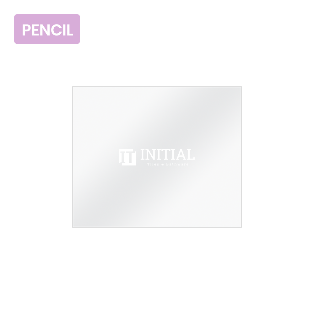 Bathroom Wall Mounted 4mm Plain Pencil Edge Mirror 900X750