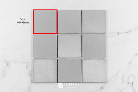 Artline Light Grey Porcelain Mosaic 295.5X295.5mm