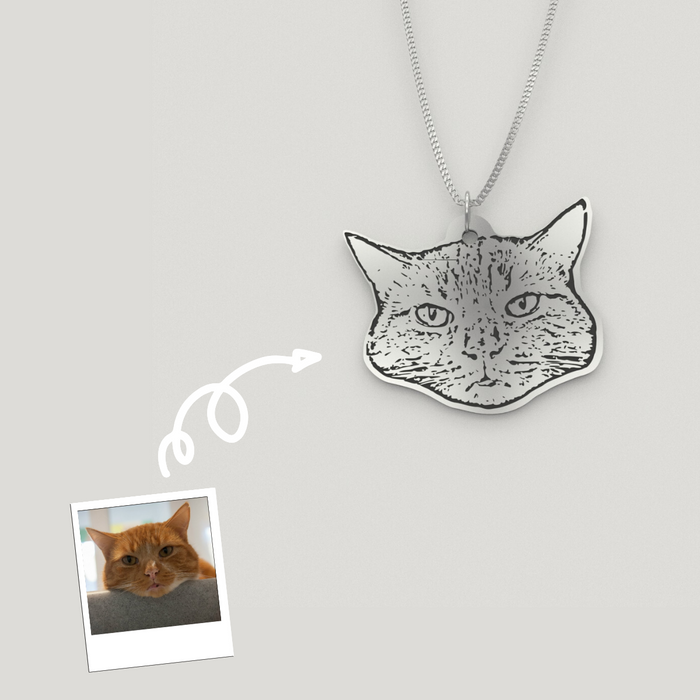 Personalized Pet Photo Necklaces
