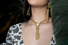 Primrose Necklace Gold