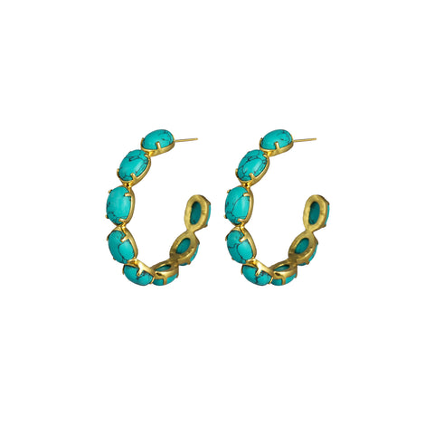 Como Earrings Turquoise PRE ORDER