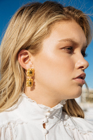 Reef Earrings Gold