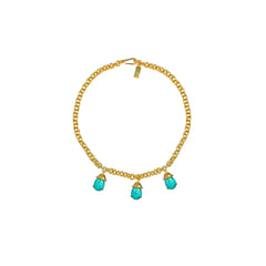 Jewel Necklace Turquoise