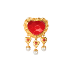 Sacred Heart Brooch