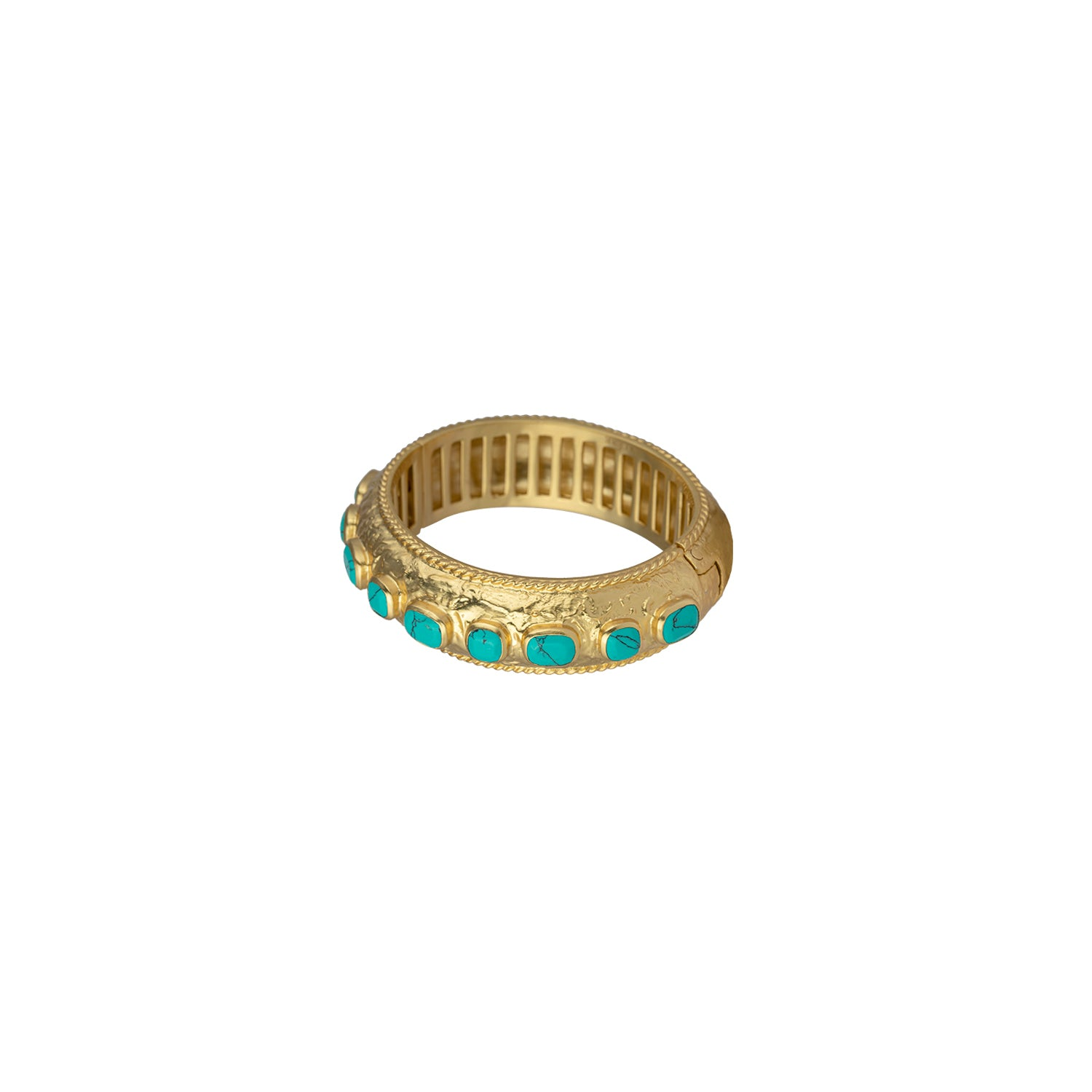 Gaia Bangle Turquoise pink (PRE-ORDER)