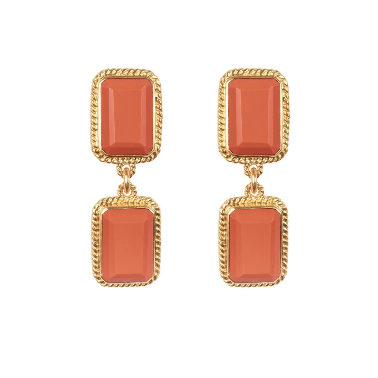Odyssey Earrings Coral