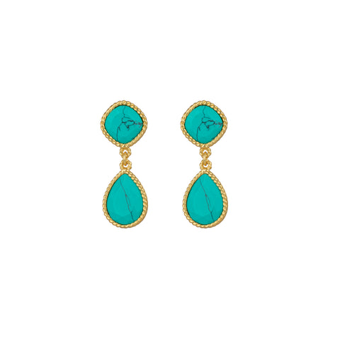 Candi Earrings Turquoise
