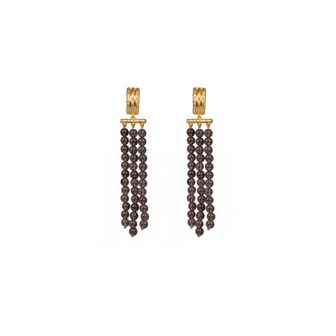 Midori Earrings Smoky Quartz
