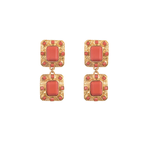 Reef Earrings Coral (Pre-Order)