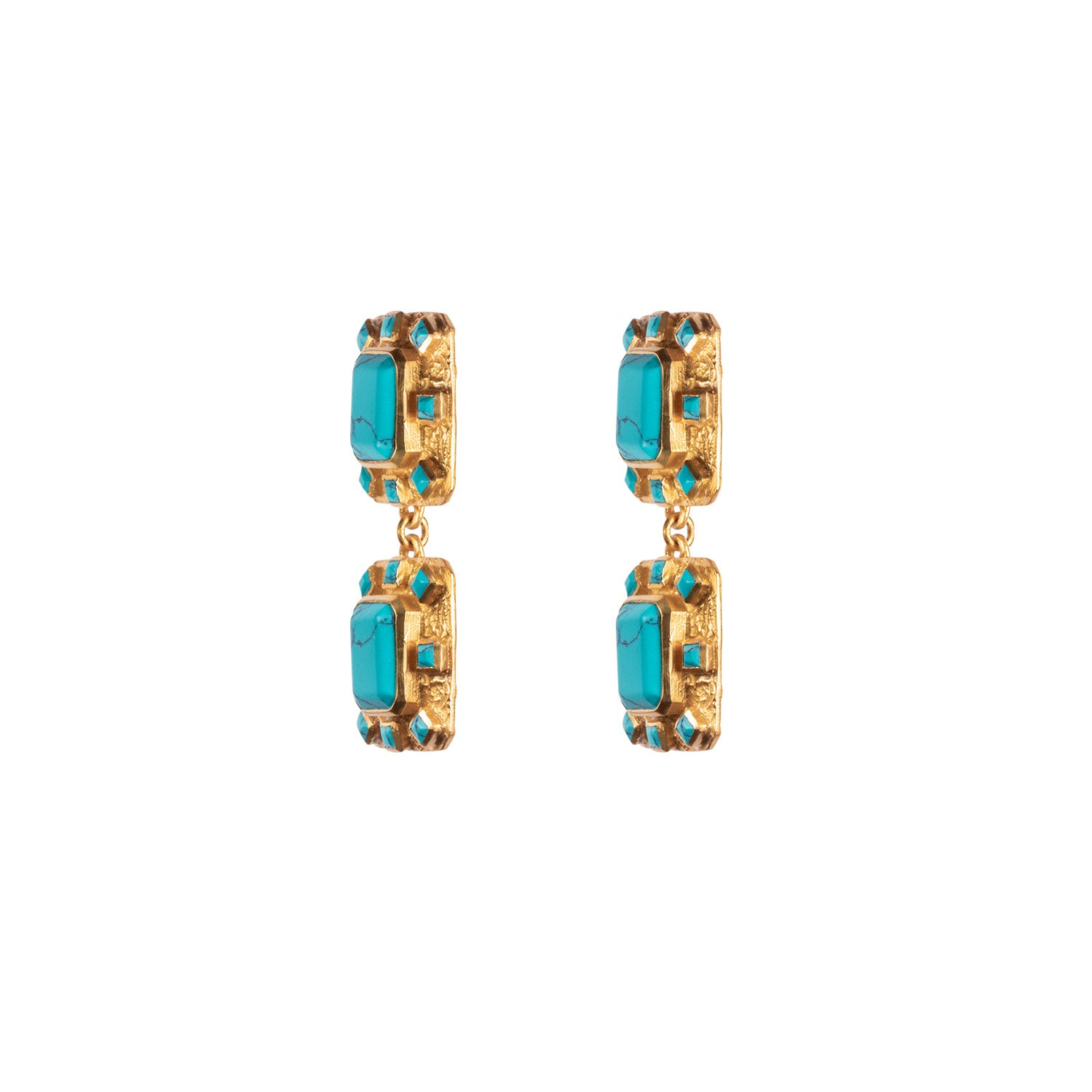 Reef Earrings Turquoise (PRE ORDER)