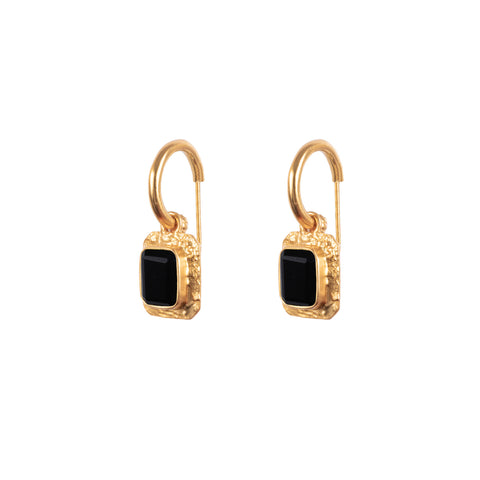 Breeze Earrings Black Onyx (Pre-Order)