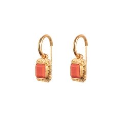 Breeze Earrings Coral