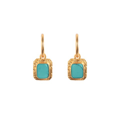Breeze Earrings Turquoise