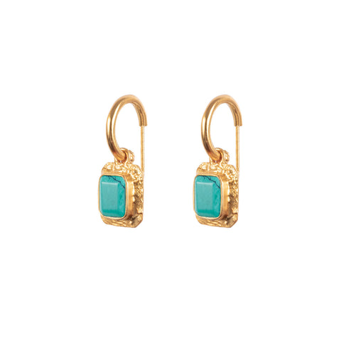 Breeze Earrings Turquoise (Pre-Order)