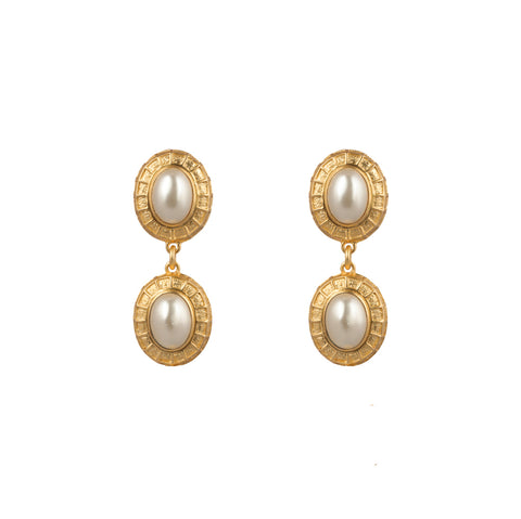 Willow Earrings Pearl