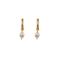 Lani Earrings Pearl