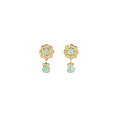 Antionette Earrings Amazonite