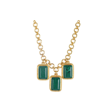 Odyssey Necklace Malachite