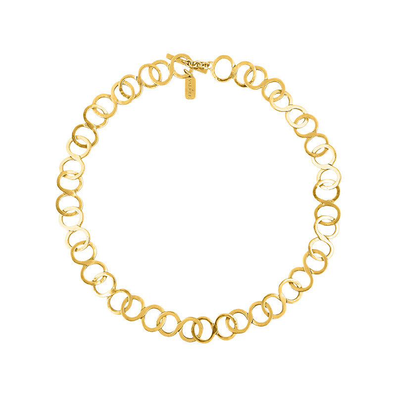 Caterina Necklace - 24k Yellow Gold