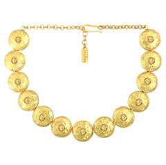 Daniella Choker Necklace - 24k Yellow Gold