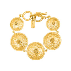 Daniella Bracelet - 24k Yellow Gold