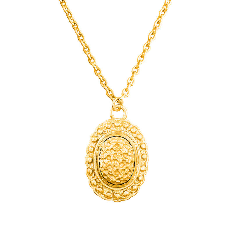 Angelina Necklace - 24k Yellow Gold